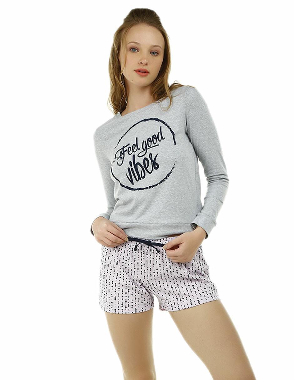 Conjunto pijama That s It algodón gris 0dfba0ce1ed01