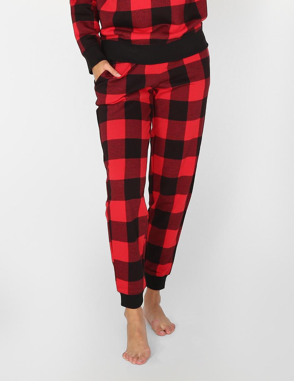 Pantalon Pijama Calvin Klein Rojo A Cuadros En Liverpool